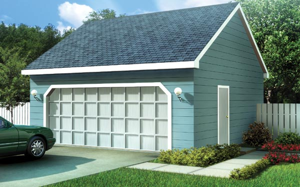 Ranch Traditional Garage Plan 6005 Elevation