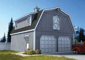 Barn Style Garage Plans At