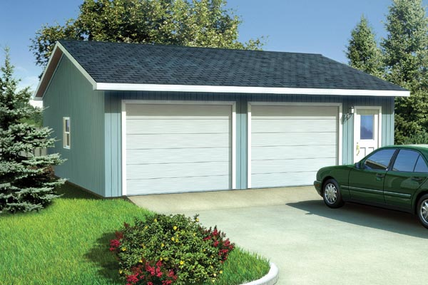 Ranch Traditional Garage Plan 6011 Elevation