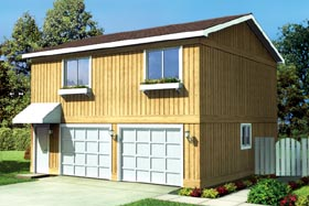 Bon Garage Plan 6015