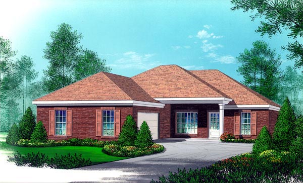 House Plan 60205