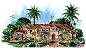Florida Mediterranean House Plan 60419 Elevation