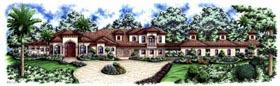 Florida Mediterranean House Plan 60424 Elevation