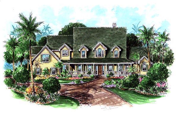 Florida Mediterranean House Plan 60427 Elevation