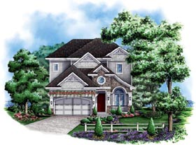 Craftsman Florida Mediterranean House Plan 60430 Elevation