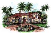 Plan Number 60433 - 3908 Square Feet