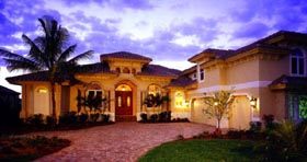 Florida Mediterranean House Plan 60435 Elevation