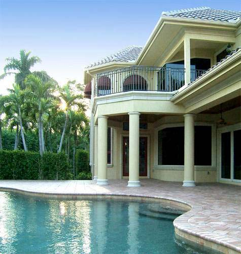 Florida Mediterranean House Plan 60458