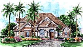 Florida Mediterranean House Plan 60461 Elevation