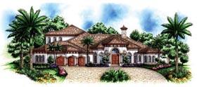 Florida Mediterranean House Plan 60464 Elevation