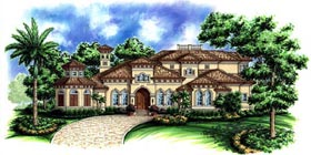 Florida Mediterranean House Plan 60473 Elevation