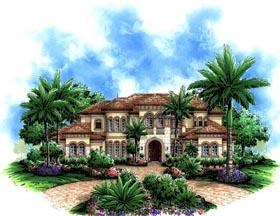 Florida Mediterranean House Plan 60479 Elevation