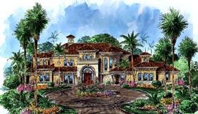Florida Mediterranean House Plan 60486 Elevation