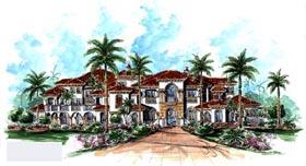 Florida Mediterranean House Plan 60489 Elevation