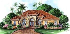 Florida Mediterranean House Plan 60510 Elevation