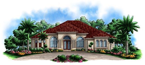 Mediterranean House Plan 60520 Elevation