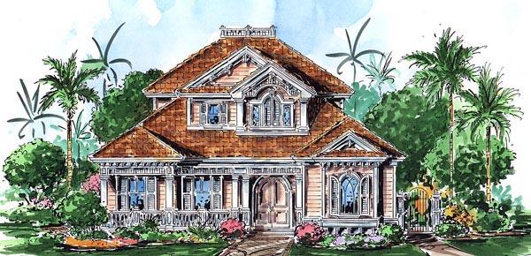 Florida Mediterranean House Plan 60540 Elevation