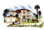 Plan Number 60541 - 3448 Square Feet