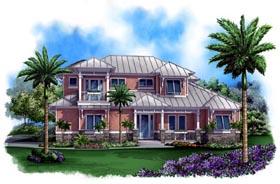 Florida Mediterranean House Plan 60542 Elevation