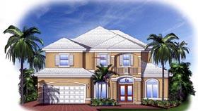 Florida Mediterranean House Plan 60543 Elevation