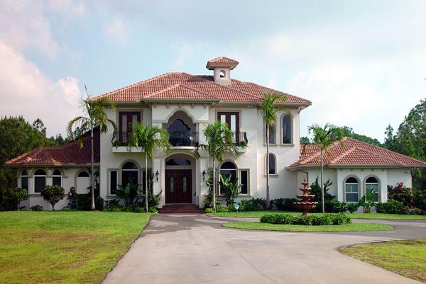 Florida Mediterranean House Plan 60545 Elevation