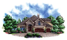 Traditional House Plan 60550 Elevation