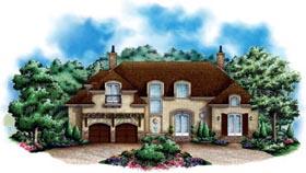 European Mediterranean House Plan 60553 Elevation