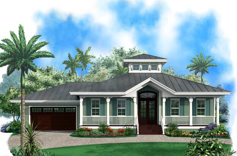 Florida House Plan 60557