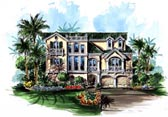 Plan Number 60560 - 4118 Square Feet