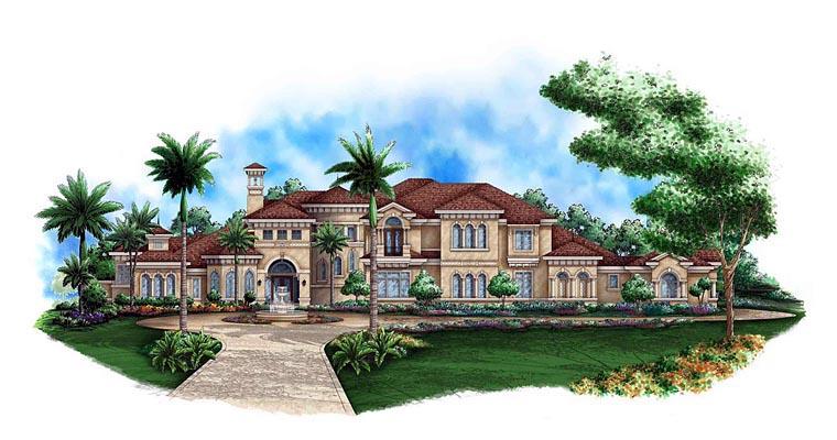 Mediterranean House Plan 60577 Elevation