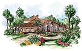 Plan Number 60581 - 4403 Square Feet