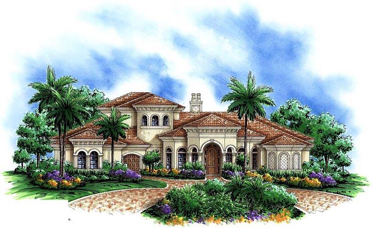 Mediterranean House Plan 60583 Elevation