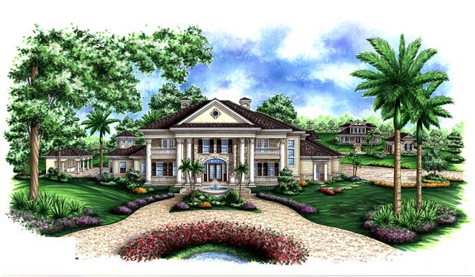 Southern House Plan 60587 Elevation