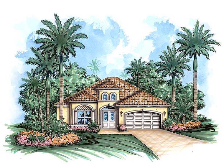 Coastal House Plan 60589 Elevation