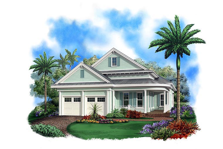 House Plan 60590 Elevation