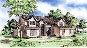 Plan Number 60622 - 3068 Square Feet