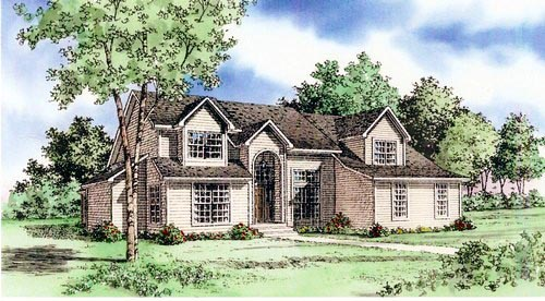 House Plan 60622 Elevation
