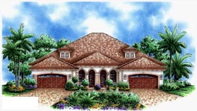 Plan Number 60703 - 5162 Square Feet