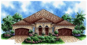 Plan Number 60704 - 5834 Square Feet
