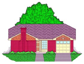 House Plan 60800