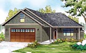 Plan Number 60900 - 1369 Square Feet