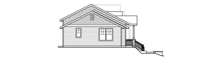 Bungalow, Contemporary, Cottage, Country, Craftsman Multi-Family Plan 60909 with 6 Beds, 6 Baths, 2 Car Garage Picture 1