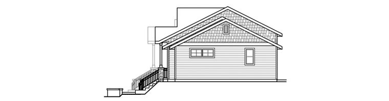 Bungalow, Contemporary, Cottage, Country, Craftsman Multi-Family Plan 60909 with 6 Beds, 6 Baths, 2 Car Garage Picture 2