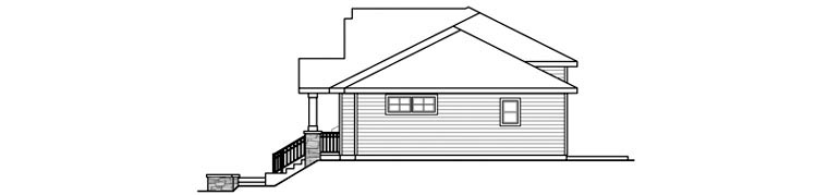 Bungalow, Contemporary, Cottage, Country, Craftsman Multi-Family Plan 60910 with 6 Beds, 6 Baths, 2 Car Garage Picture 2
