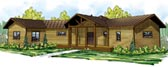 Plan Number 60914 - 1591 Square Feet