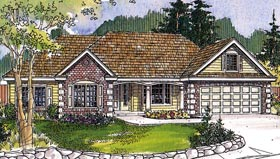 Plan Number 60918 - 2619 Square Feet