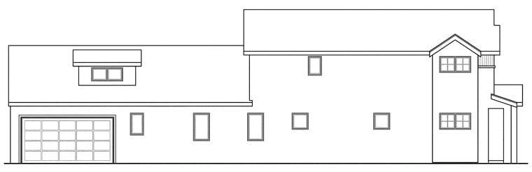 Contemporary, European, Florida, Mediterranean House Plan 60919 with 3 Beds, 4 Baths, 2 Car Garage Picture 1