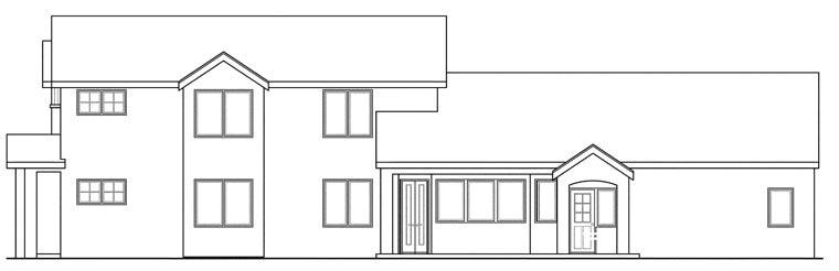 Contemporary, European, Florida, Mediterranean House Plan 60919 with 3 Beds, 4 Baths, 2 Car Garage Picture 2