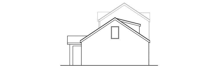 Contemporary, European, Florida, Mediterranean House Plan 60919 with 3 Beds, 4 Baths, 2 Car Garage Rear Elevation
