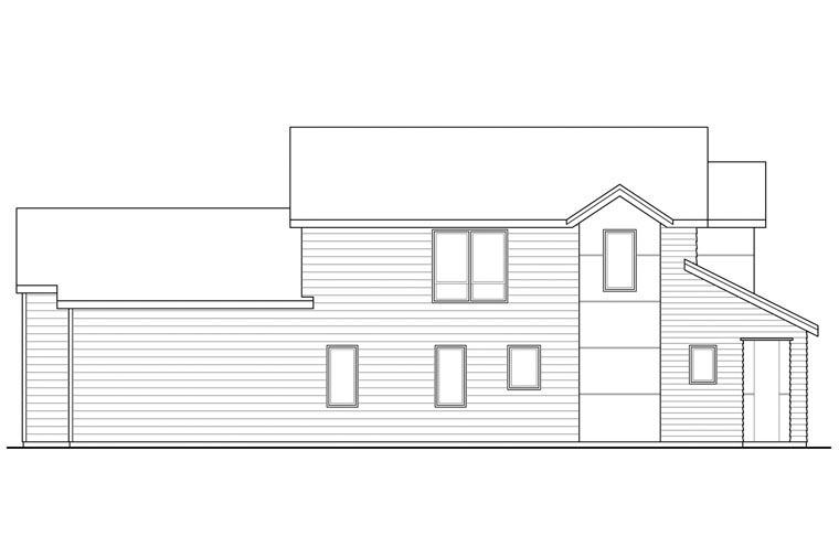 Contemporary Florida Ranch Southwest House Plan 60928
